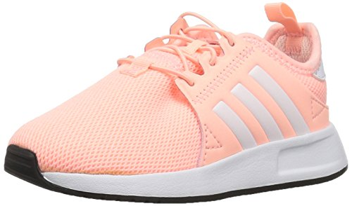 adidas Originals Baby X_PLR EL Running Shoe, Clear Orange White