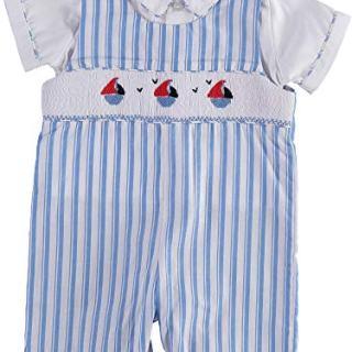 Carriage Boutique Baby Boy Short Romper