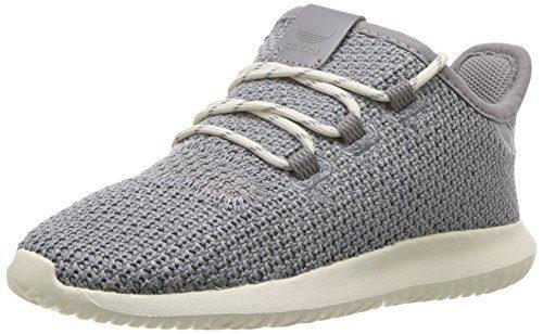 adidas baby-Boys' Tubular Shadow I, Grey Three/Grey Three/Chalk White