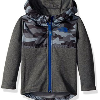 The North Face Baby Boys' Kickin It Hoodie - mid Grey camo Heather Print