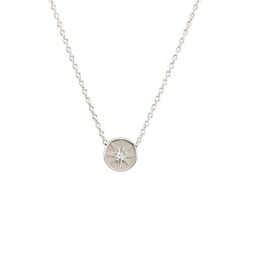 Dogeared It's The Little Things Crystal Circle Necklace