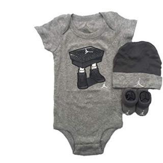 NIKE Jordan Jumpman 3 Piece Infant Set
