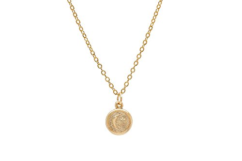 Pori Jewelers 14K Yellow Gold Small Circle Disc Pendant