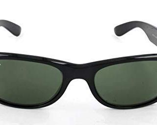 Ray-Ban New Wayfarer Sunglasses, Black/Green