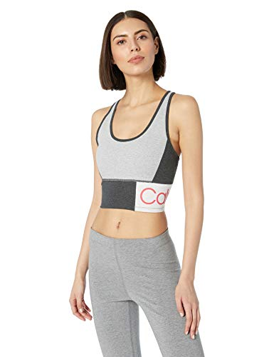 Calvin Klein Performance Women's Patchwork Scoop Crop Top