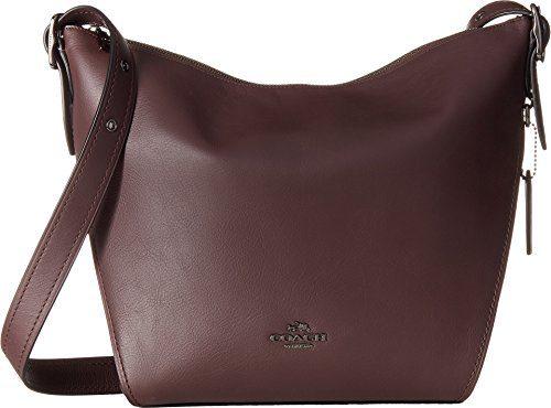 COACH Women's Dufflette in Natural Calf Leather
