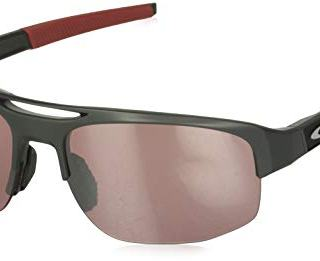Oakley Men's Mercenary Rectangular Sunglasses, Matte Carbon/Prizm