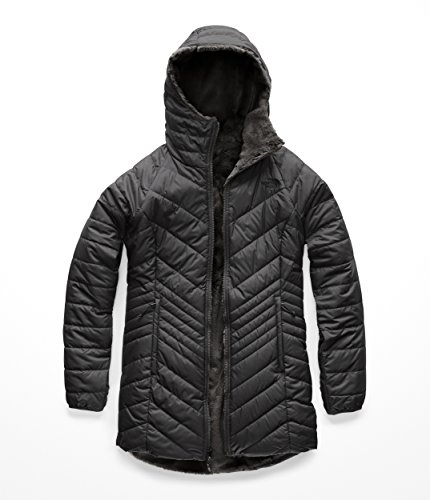 The North Face Women's Mossbud Insulated Reversible Parka - Asphalt Grey - M