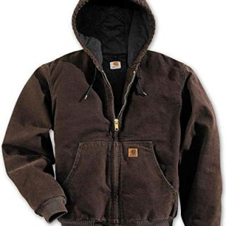 Carhartt Men's Sandstone Active Jacket,Dark Brown