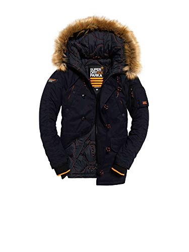 Superdry Men's SDX Parka Jacket, Blue