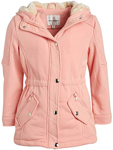 Urban Republic Girls Fleece Fur Hooded Jackett