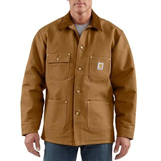 Carhartt Men's Duck Chore Coat Blanket Lined
