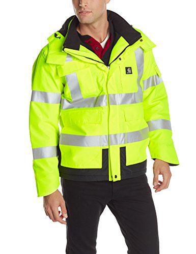 Carhartt Men's High Vis Waterproof Class 3 Insulated Sherwood Jacket