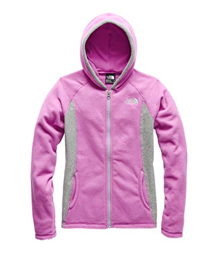 The North Face Girl's Glacier Full Zip Hoodie, Wisteria Purple