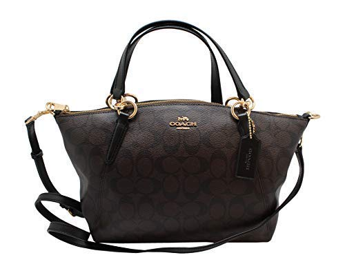Coach Women's Small Kelsey Satchel No Size (IM/Brown/Black)