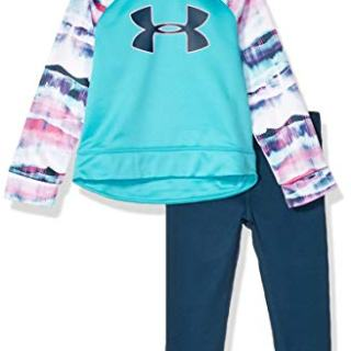 Under Armour Girls' Toddler Active Hoodie and Legging Set