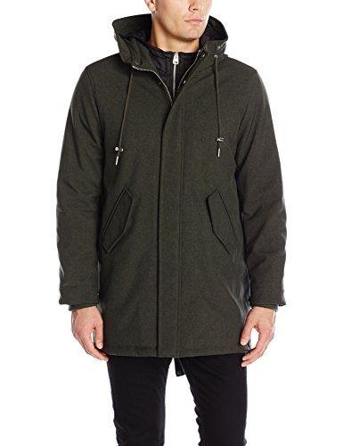 Levi's Men's Soft Shell Fashion Fishtail Parka
