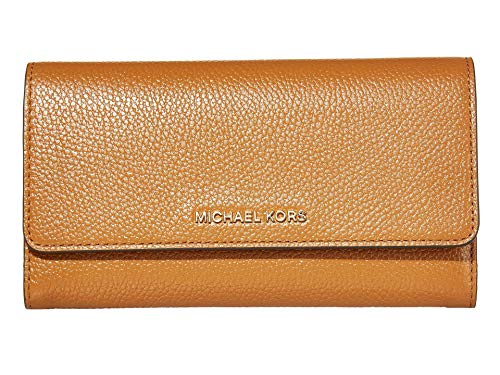 MICHAEL Michael Kors Jet Set Large Trifold Wallet Acorn One Size