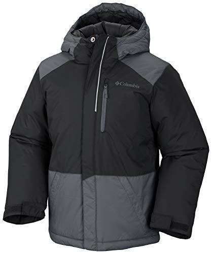 Columbia Boys' Big Lightning Lift Jacket, Black/Graphite