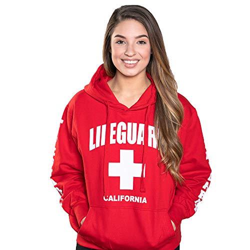 LIFEGUARD Officially Licensed Ladies California Hoodie Sweatshirt
