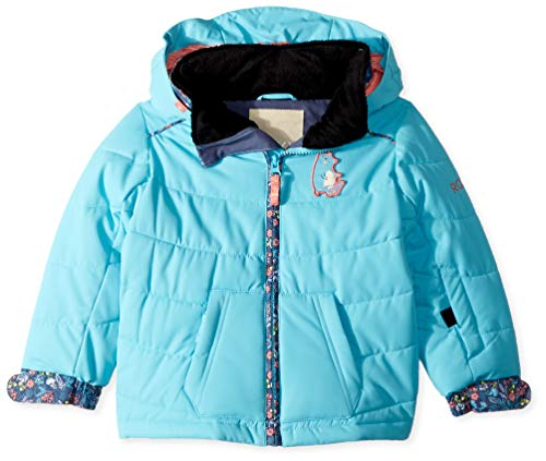 ROXY Girls' Toddler Anna Snow Jacket, Bachelor Button