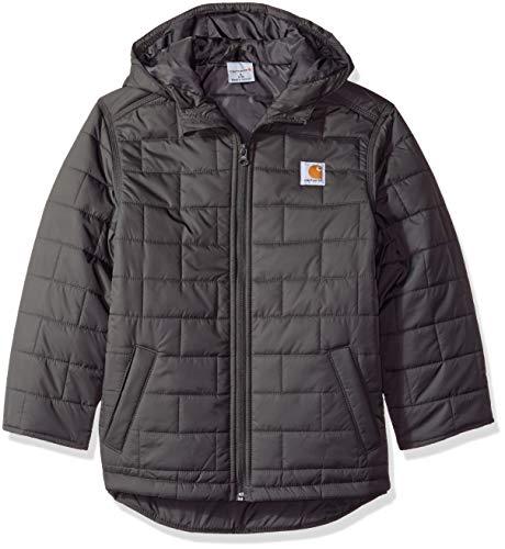 Carhartt Boys' Big Gilliam Hooded Jacket, Dark Grey