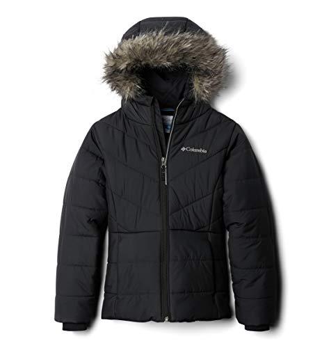 Columbia Girls' Big Katelyn Crest Jacket, Black