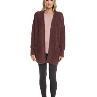 Barefoot Dreams CozyChic Women's So-Cal Cardi with Pockets