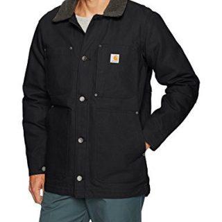 Carhartt Men's Full Swing Chore Coat, Black