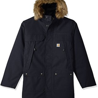 Carhartt Men's Big Big & Tall Quick Duck Sawtooth Parka