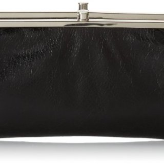 HOBO Vintage Lauren Wallet ,Black, One Size