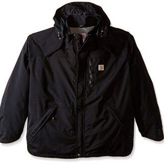 Carhartt Men's Big & Tall Shoreline Jacket Waterproof Breathable Nylon