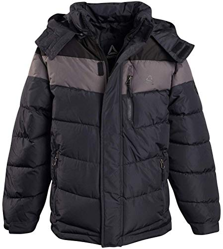 Reebok Boys Thick Bubble Jacket with Removable Hood