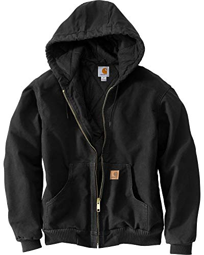 Carhartt Men's Big & Tall Quilted Flannel Lined Sandstone Active Jacket