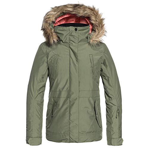 Roxy Little Tribe Girl Snow Jacket, Four Leaf Clover