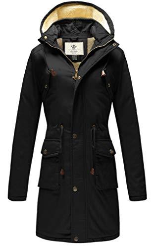 WenVen Women's Casual Thicken Cotton Jacket