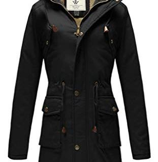WenVen Women's Casual Thicken Cotton Jacket