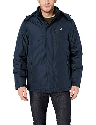 Nautica Men's Systems 3-in-1 Fleece-Lined Jacket