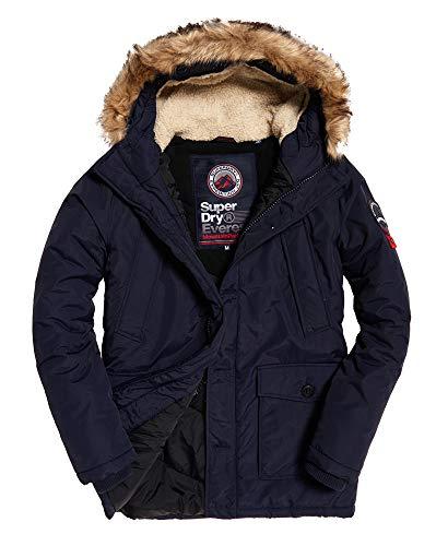 Superdry Everest Parka Jacket Navy
