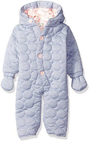 Jessica Simpson Baby Girls' Circle Quilted Polyfilled Jersey Pram