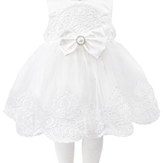 Taffy Baby Girl Christening Baptism Embroidered White Dress Gown