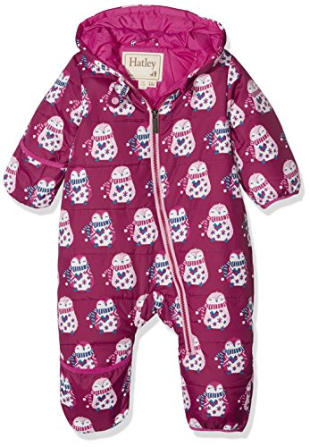Hatley Baby Girls Mini Winter Bundlers, Cuddly Penguins