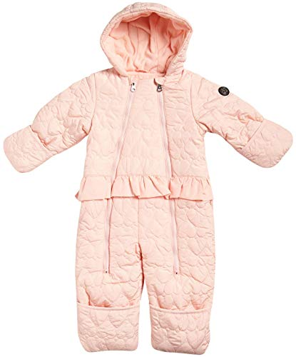 Jessica Simpson Baby Girls Hooded Heart Snowsuit Pram