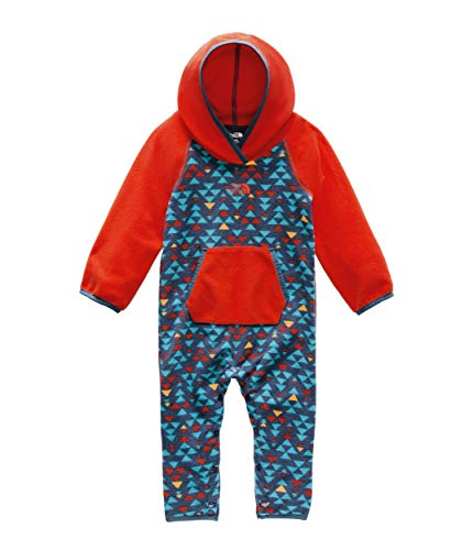 The North Face Infant Glacier One Piece, Shady Blue Mini Aztec Print