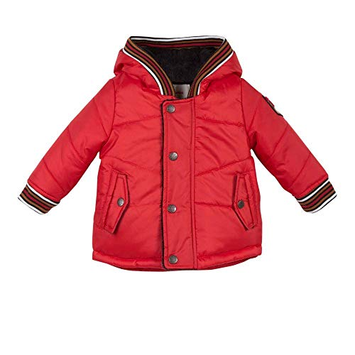 Catimini Red Coated Hooded Parka