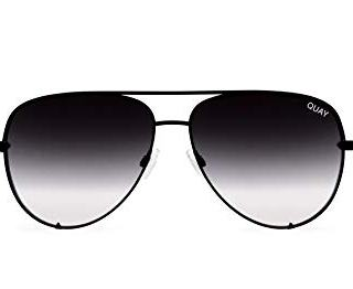 Quay Australia HIGH KEY Men's and Women's Sunglasses Classic Oversized Aviator
