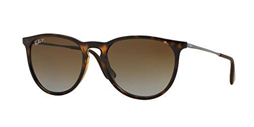 Ray Ban ERIKA 54M Havana/Brown Gradient Polarized Sunglasses For Women