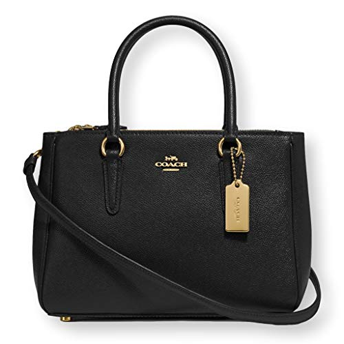 Coach Mini Surrey Carryall Bag Signature Purse Logo