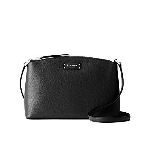 Kate Spade New York Jeanne Crossbody Grove Street Handbag Black Leather
