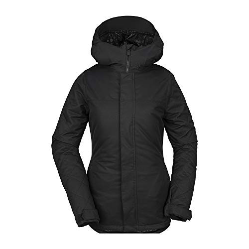 Volcom Women's Bolt Insulated Snow Jacket, Black, Medium